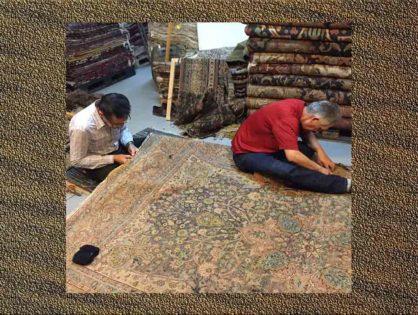 Nettoyage et lavage de tapis d'orient Clichy